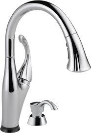 faucet com 9192t arsd dst in arctic stainless by delta