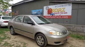 2003 toyota corolla mpg automatic 2003 toyota corolla ce 4dr sedan in kansas city ks korz auto farm