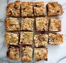 ina garten u0027s famous raspberry jam crumble bars bake cook