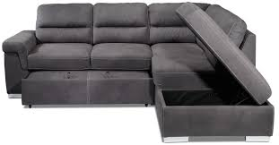 Chaise Lounge Sofa Beds by Simone 3 Piece Right Facing Sofa Bed Sectional Charcoal Leon U0027s