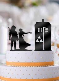 tardis cake topper link and to the tardis wedding cake topper bee3dgifts