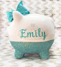 keepsake piggy bank a precious personalized piggy bank will make the gift for