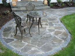 Irregular Stone Patio Driveway Patio And Walkway Landscaping In Annandale Minnesota