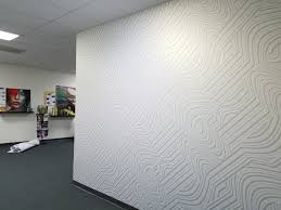 innovative digital print media spotlight presto tape canvastac canvastac gold office wall mural 2