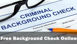 How To Pass A Criminal Background Check How To Do A Free Background Check