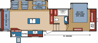 Durango 5th Wheel Floor Plans by 2018 Kz Durango 2500 318rlt Family Camping Outlet