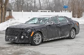 New Cadillac Elmiraj Price Spied No Elmiraj But The Rear Drive Cadillac Flagship Sedan Is