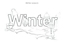 coloring pages about winter coloring pages of winter winter clothes coloring pages activities