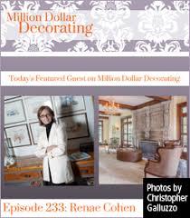 Million Dollar Decorating Press Renae Cohen Interiors