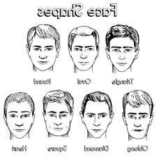 head shapes and hairstyles oval face shape hairstyles male face shapes types chart men male