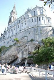 Lourdes France Map by Basilica Of Our Lady Of The Immaculate Conception Lourdes France