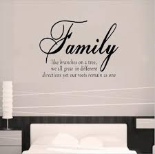 wall designs quote wall removable family wall
