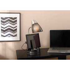Desk Lamp With Power Outlet Organizer Desk Lamps