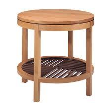 metropolitan round lamp table dau furniture