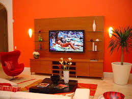 orange living room design home ideas simple decor for birdcages