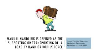 manual handling policy template corpedo com