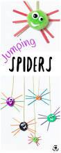 pom pom jumping spider craft kids craft room
