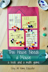 this house needs a mouse a book and a math game