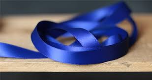 2 inch satin ribbon faced poly satin ribbon 1 2 inch royal blue the patch