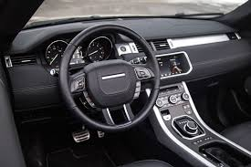 evoque land rover interior review 2017 range rover evoque convertible canadian auto review