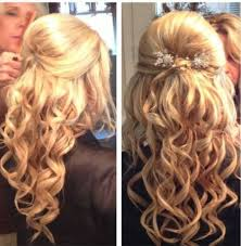 prom hairstyles for medium hair half up half down curly prom hairstyles updos for medium hair half