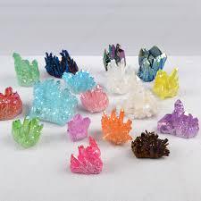 aura crystals healing wholesale crystals spirit quartz aura titanium crystal