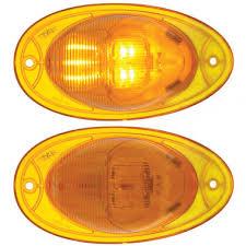 led side marker lights for trucks freightliner led side of cab turn signal light raney s truck parts