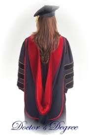 how to wear academic regalia