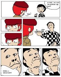 Card Crusher Meme - card crusher benny fnv by mikkynga on deviantart