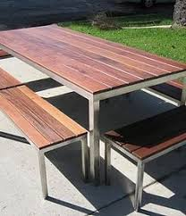 Stainless Steel Patio Table Soho Commercial Grade Stainless Steel Patio Furniture Outdoor