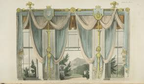 Fancy Window Curtains Ideas Images Of Three Window Dining Room Curtains 1811