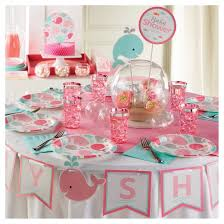 pink baby shower baby shower decorations target
