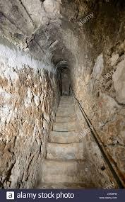 Bran Castle Interior Narrow Stairway Inside The Wall Bran Castle Toerzburg Romania