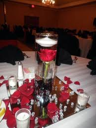 Red Rose Table Centerpieces by 24 Best Centerpiece Ideas Images On Pinterest Centerpiece Ideas