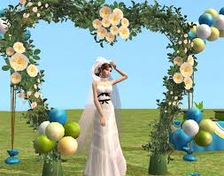 wedding arches sims 3 wedding arch decor objects swetoslawna zone downloads