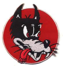 halloween patches lone wolf patch badge red retro cartoon rod motorcycle car