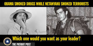 Post Meme - meme obama smoked drugs while netanyahu smoked terrorists the