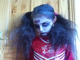Zombie Cheerleader Costume Zombie Cheerleader Hair And Makeup Mugeek Vidalondon