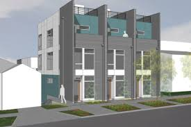 attack of the townhomes four new projects up for review curbed