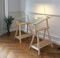 table cuisine verre ikea bureau en verre top table cuisine en amp nature with