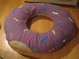 halloween pillows how to make a donut pillow or a giant donut halloween costume