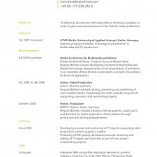 college resume format english foxy german resume format example