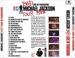 Michael Jackson Bad Album Reliquary Michael Jackson 1987 09 26 Bad Live In Yokohama