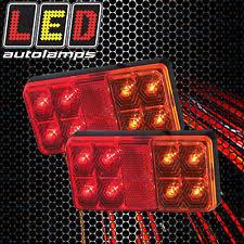 led boat trailer lights submersible led trailer lights ebay