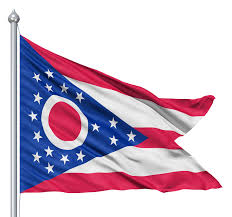 How Many Stars On The United States Flag Ohio Flag State Flag Of Ohio