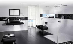 Black White And Gray Bathroom Ideas - creative black and white mosaic bathroom tile on small home decor