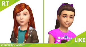 sims 4 kids hair the sims 4 kids room stuff new hairstyles screen sims community