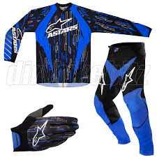 bike gear blue dirt bike gear riding bike