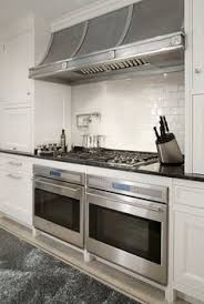 Wall Oven Under Cooktop Side By Side Double Oven Range Kitchen Island Idea Pinterest
