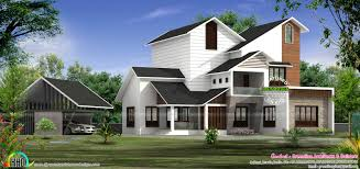 slanted roof plans modern house dog s hahnow
